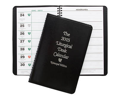 Episcopal Liturgical Desk Calendar 2015