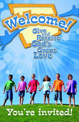 Mennomedia Welcome VBS 2014 Invitation Postcards (Pkg 20)