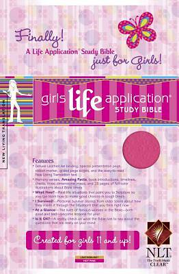 Girls Life Application Bible New Living Translation