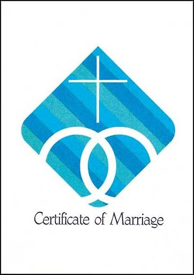 Certificate of Marriage (Package of 12)