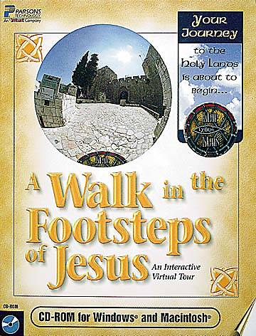Walk in the Footsteps of Jesus CD-ROM