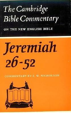 Picture of The Book of the Prophet Jeremiah, Chapters 26-52