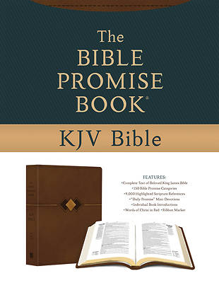Picture of The Bible Promise Book KJV Bible [hickory Diamond]