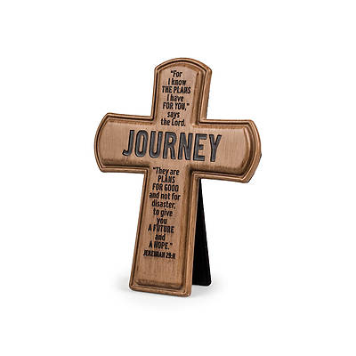 Picture of Brown Cast Stone Series - Journey Cross