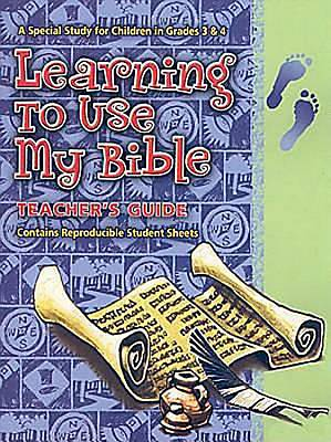 Learning To Use My Bible - Teachers Guide with CD