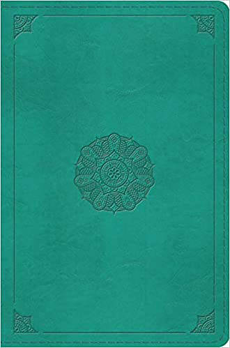 Picture of ESV Compact Bible (Trutone, Turquoise, Emblem Design)