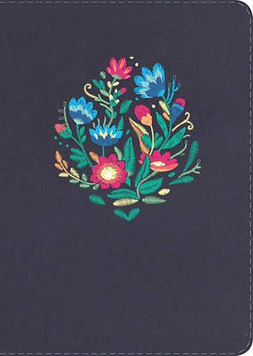 Picture of NVI Biblia Letra Grande Tamano Manual, Bordado Sobre Tela Con Indice
