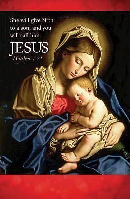 Picture of Jesus Nativity Christmas Bulletin (Pkg of 50)