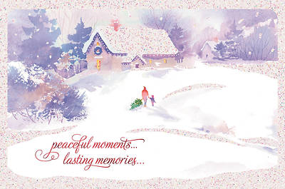 Peaceful Moments Christmas Card