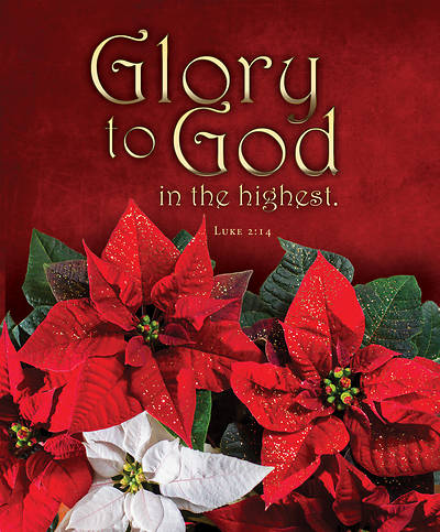 Glory To God Christmas Legal Size Bulletin