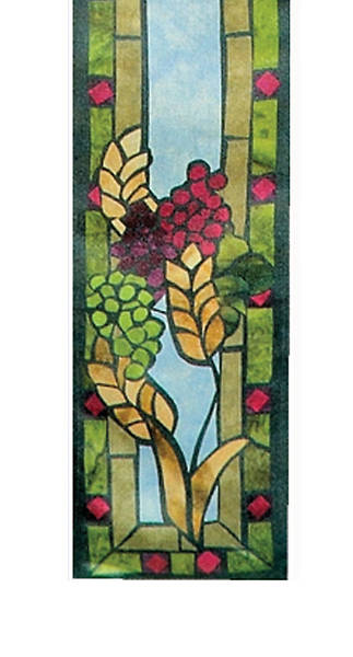 Stained Glass Communion Parament Set Bible Bookmark