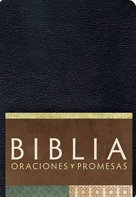 Picture of Rvc Biblia Oraciones y Promesas - Negro Imitacion Piel