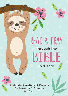 Picture of Read and Pray Through the Bible in a Year (Girl)