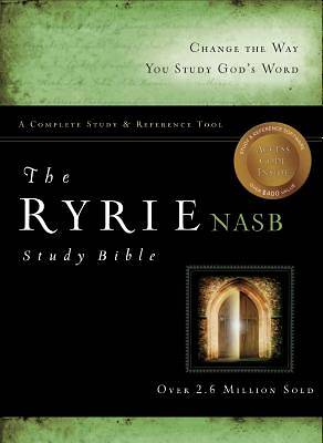 Picture of Ryrie Study Bible-NASB