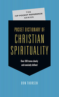 Picture of Pocket Dictionary of Christian Spirituality