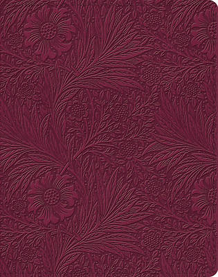 Picture of ESV Single Column Journaling Bible (Trutone, Raspberry, Floral Design)