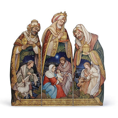 Kings Nativity 3 Panel Screen 39.75