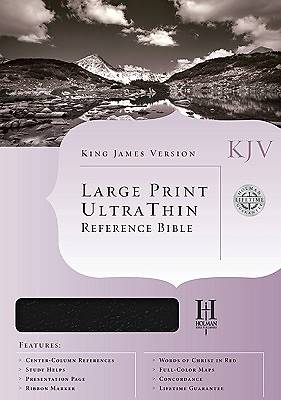 King James Version Ultrathin Large Print Reference Bible