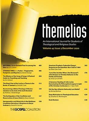 Picture of Themelios, Volume 45, Issue 3