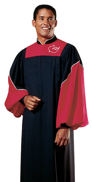 Epiphany Black and Vermillion Junior Choir Robe