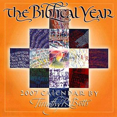 Picture of The Biblical Year 2007 Calendar