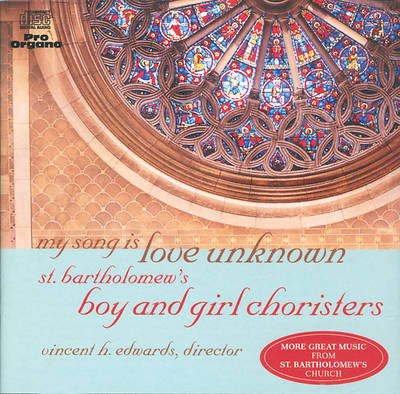 MY SONG IS LOVE UNKNOWN (CD)