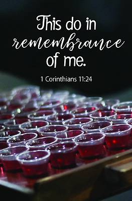 Picture of This Do Bulletin (Pkg 100) Communion