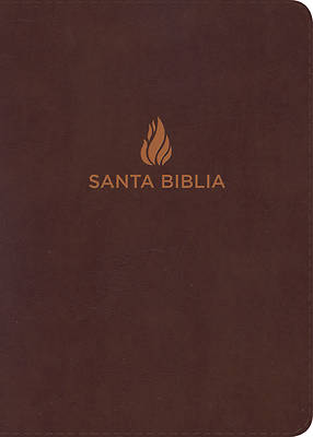 Picture of Rvr 1960 Biblia Letra Grande Tamano Manual Marron, Piel Fabricada