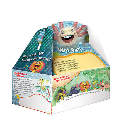 Group VBS 2014 Weird Animals Zookeeper Paper Boxes 10pk