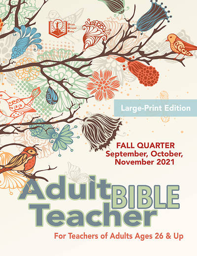 Picture of Union Gospel Adult Bible Teacher LP Fall 2021