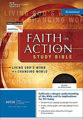 Bible NIV Faith in Action Study Bible