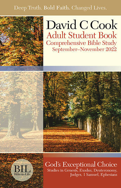 Bible-in-Life Adult Comprehensive Bible Study Student Book Fall
