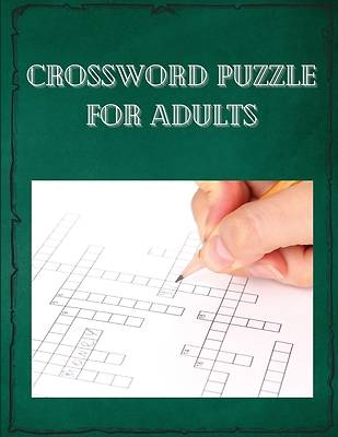 Picture of Crossword puzzle for adults