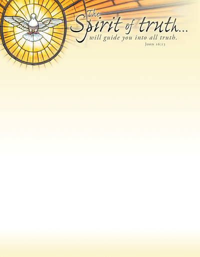 Picture of The Spirit of Truth General Use Letterhead