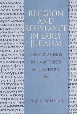 Religion and Resistance in Early Judaism