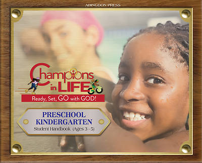Picture of Vacation Bible School (VBS) 2020 Champions in Life Preschool/Kindergarten Student Handbook (Ages 3-5) (Pkg of 6)