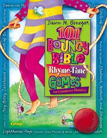 Picture of 101 Bouncy Bible Rhyme-Time Games for Childrens Ministry