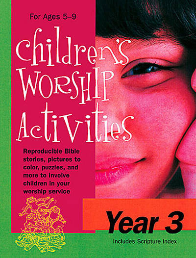 Childrens Worship Activities Year 3 - Download version