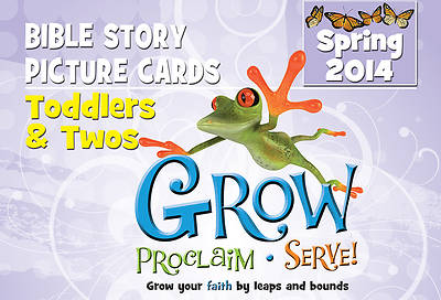 Picture of Grow, Proclaim, Serve! Toddlers & Twos Bible Story Picture Cards Spring 2014