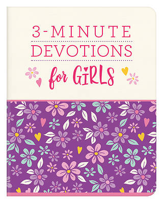 Picture of 3-Minute Devotions for Girls