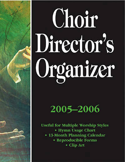 Picture of Choir Director's Organizer, 2005-2006