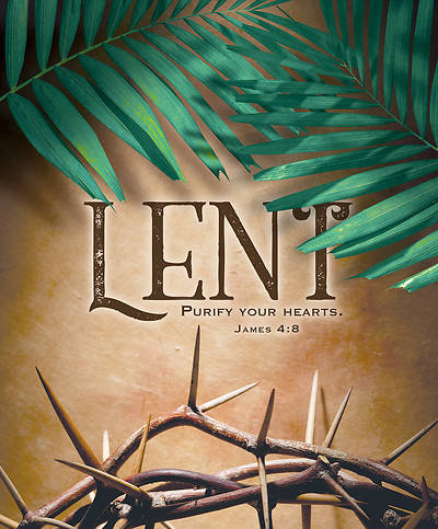 Picture of Purify Your Hearts Lent Legal Size Bulletin