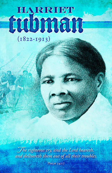Black History Harriet Tubman Bulletin Regular (Package of 100)