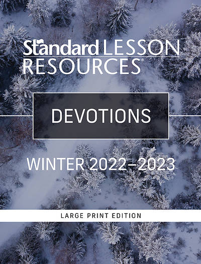 Picture of Standard Lesson Quarterly Adult Devotions Large Print Winter