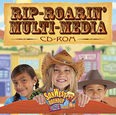 Gospel Light Vacation Bible School 2013 SonWest RoundUp Rip-Roarin Multimedia CD-ROM