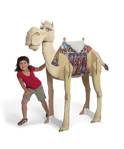 Group VBS 2014 Wilderness Escape Giant Humphrey the Camel 3-D Display