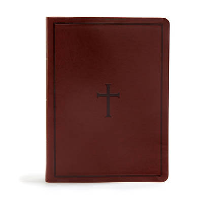 KJV Study Bible, Brown Leathertouch, Indexed