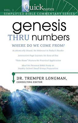 Picture of Quicknotes Commentary Volume 1--Genesis-Numbers