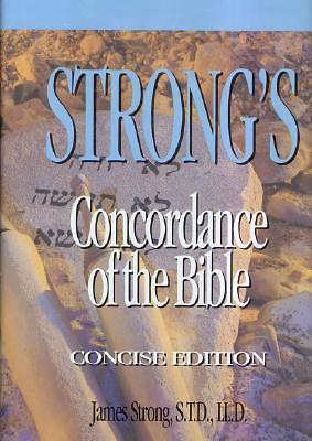 Strongs Concordance of the Bible
