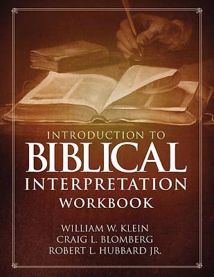 Picture of Introduction to Biblical Interpretation Workbook